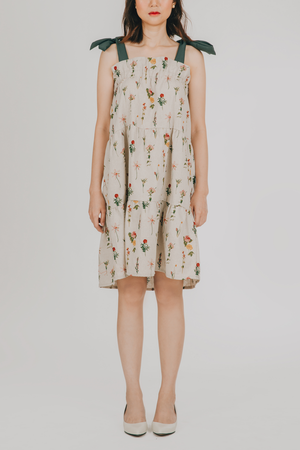 Sinag Dress (in Floral)