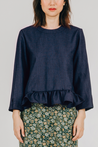 Alon Top (in Dark Blue)