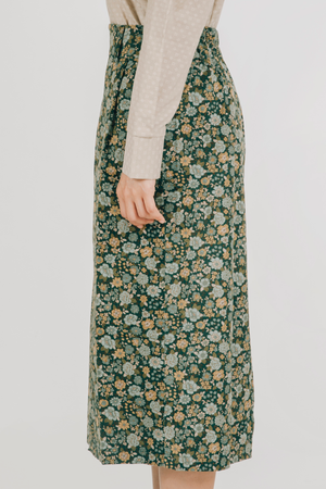 Tahan Skirt (in Green)