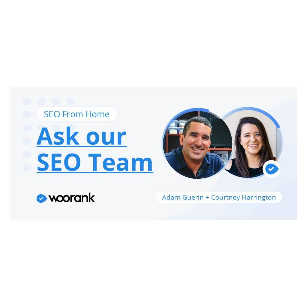 Our Website Ranked by WooRank!