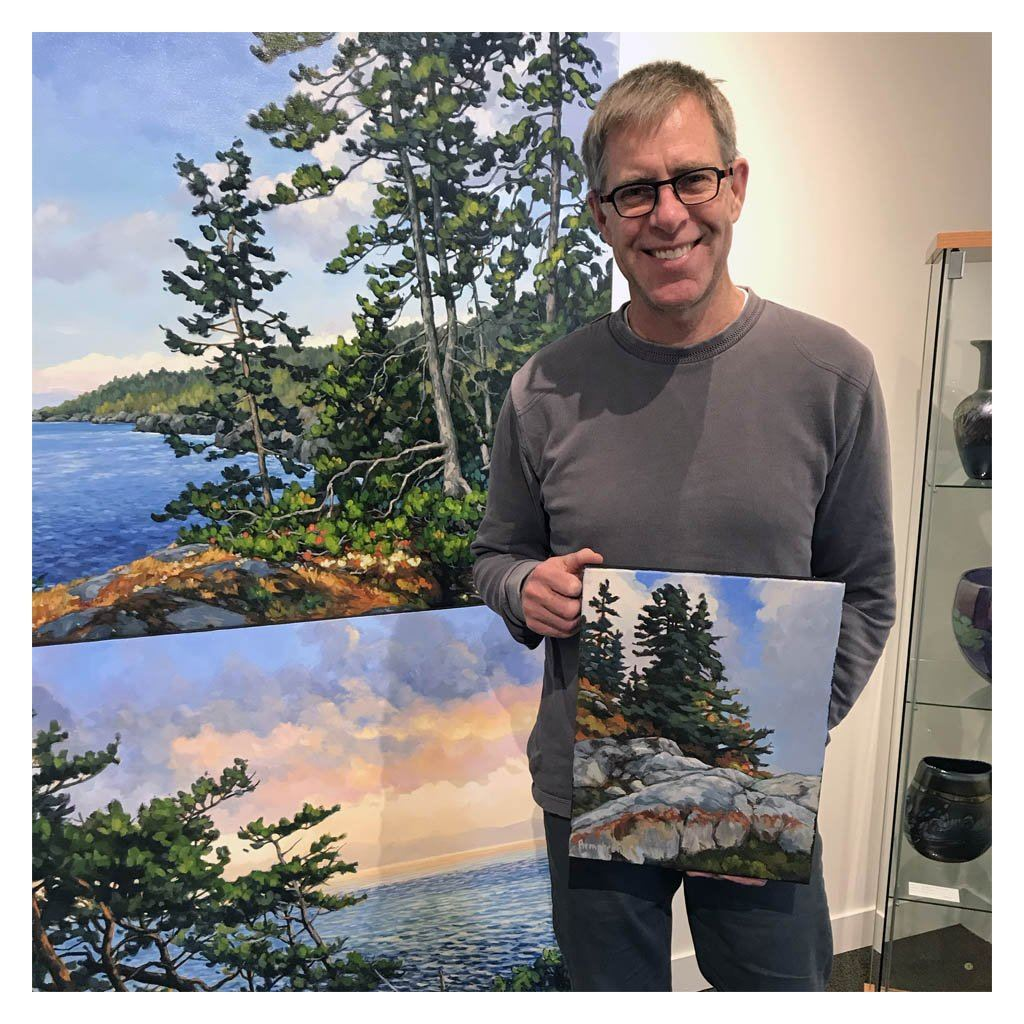 Steven Armstrong Delivers his Exhibition to Victoria, BC