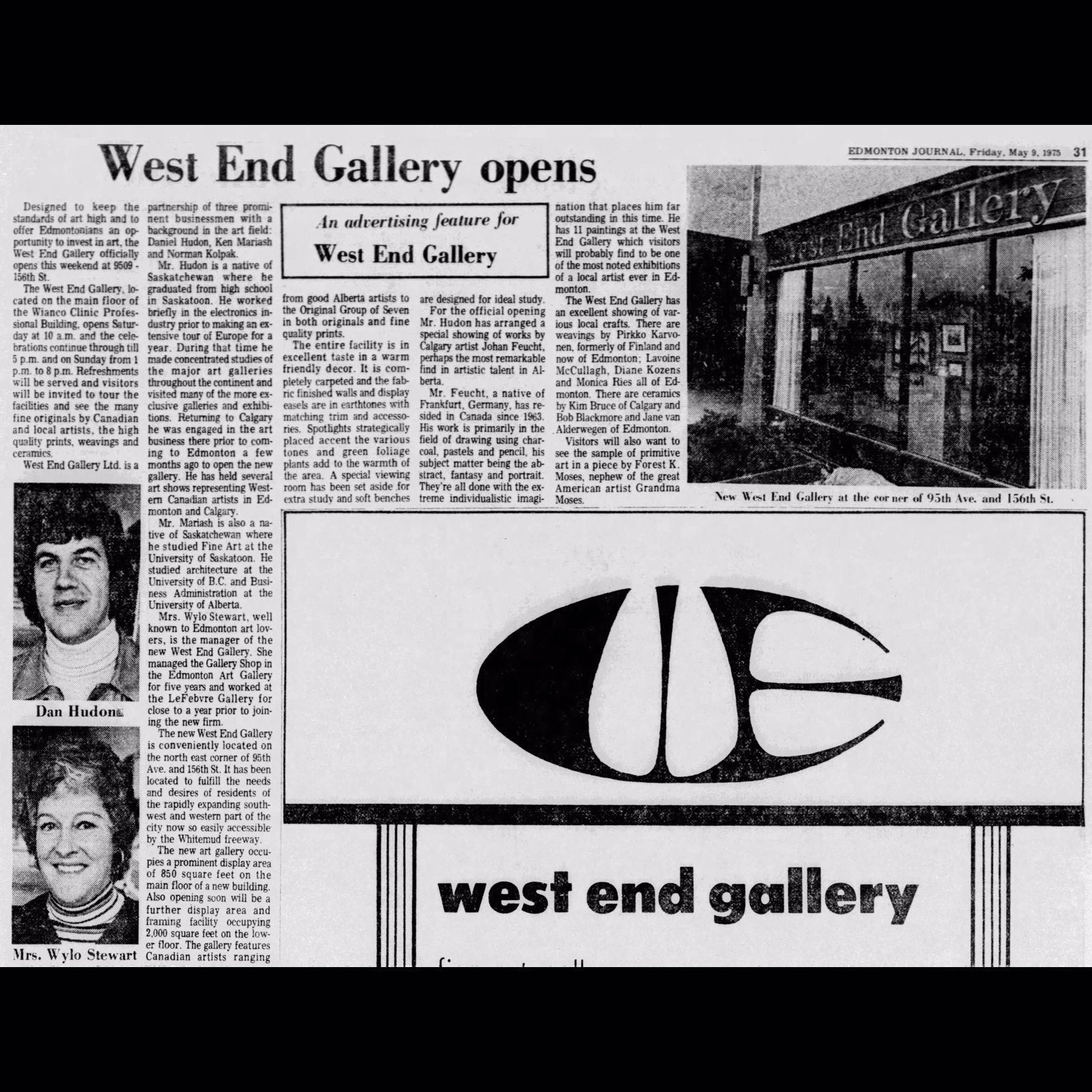The History Behind the West End Gallery