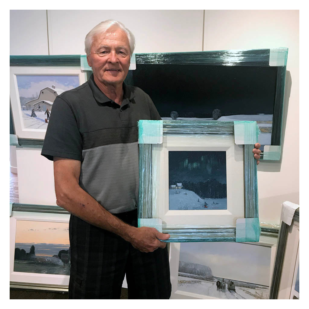 peter shostak, an exhibition of new oil paintings