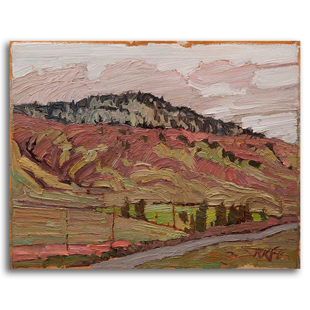 Ashcroft Landscape Oil on Board by Ken Faulks