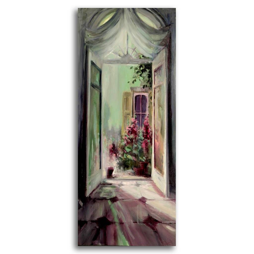 courtyards' revival Oil on Canvas Pierre Giroux
