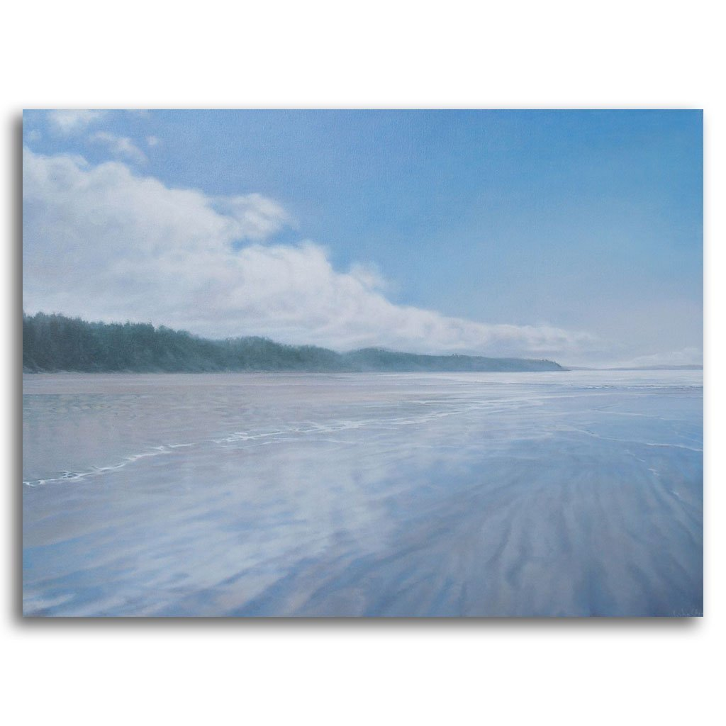Equinox, Wickaninnish Beach Oil on Canvas by Patricia Johnston