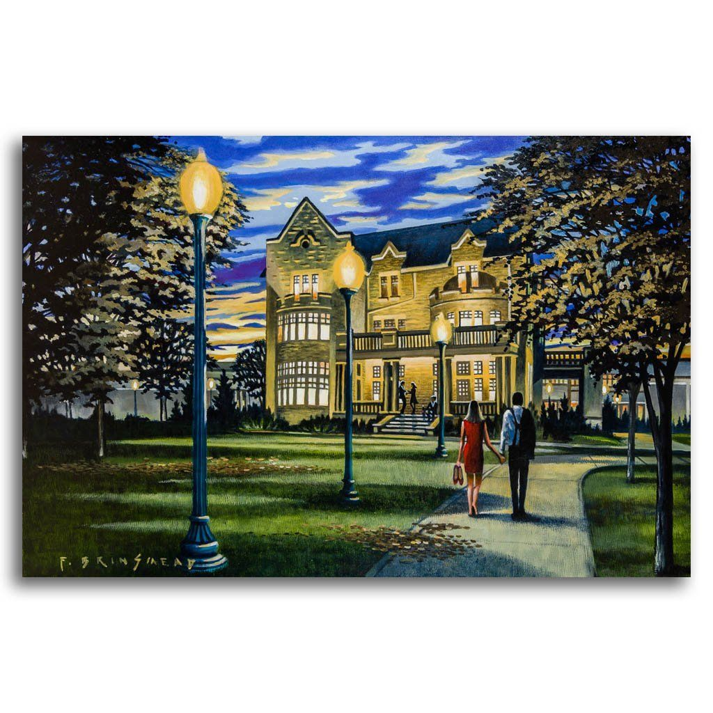 Fall Evening at Government House Acrylic on Canvas by Fraser Brinsmead