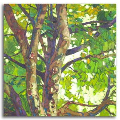 Foliage Oil on Canvas by Paul Paquette