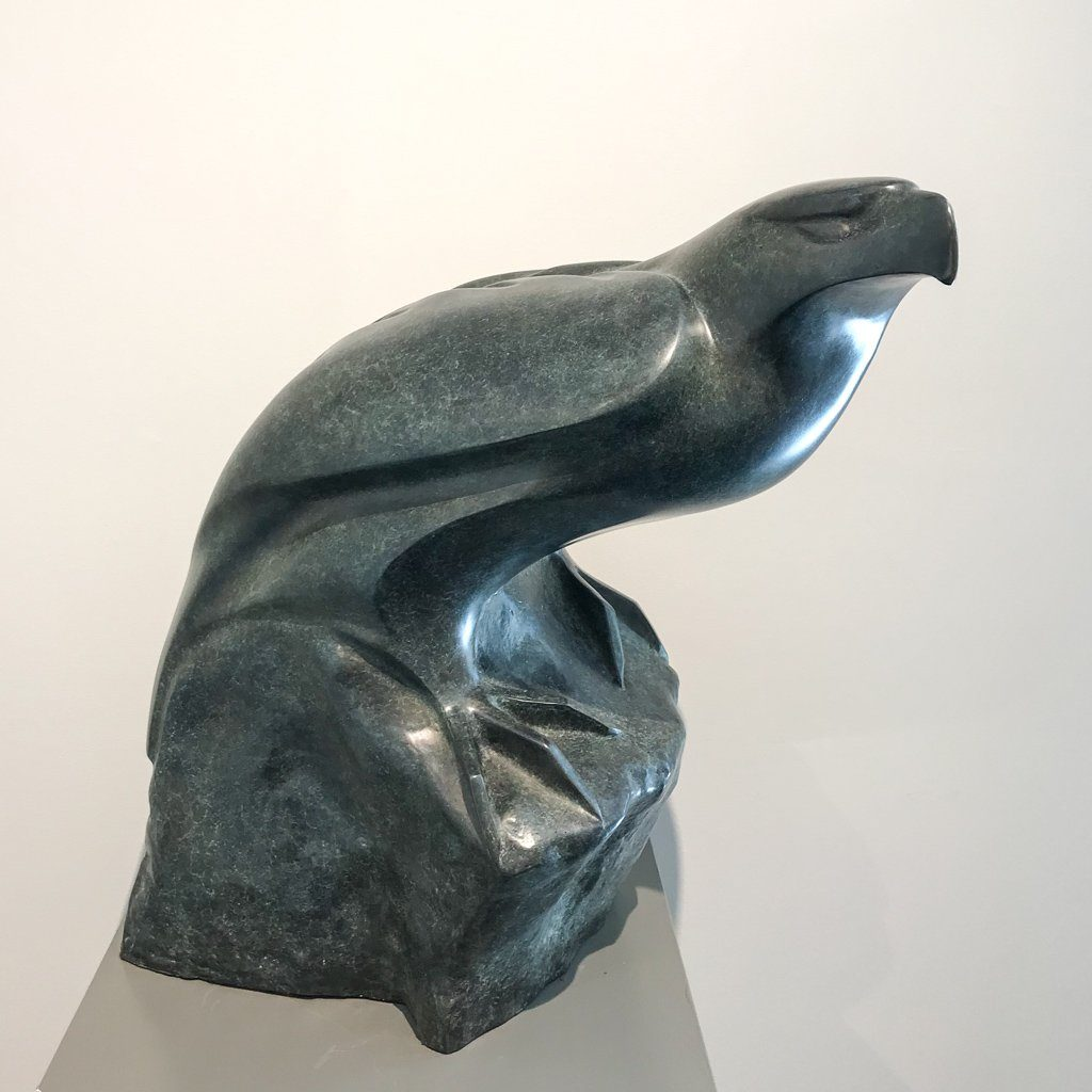 From the Edge of Beauty 1/6 Cast bronze by Cathryn Jenkins