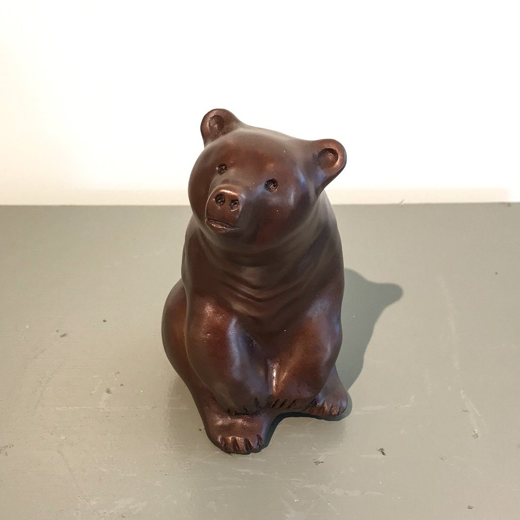Gentle Cub 26/50 Cast bronze Cathryn Jenkins