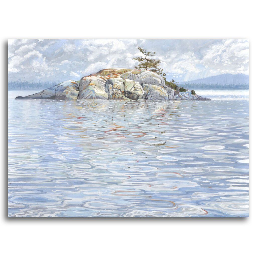 Islet I Oil on Canvas by Naomi Cairns