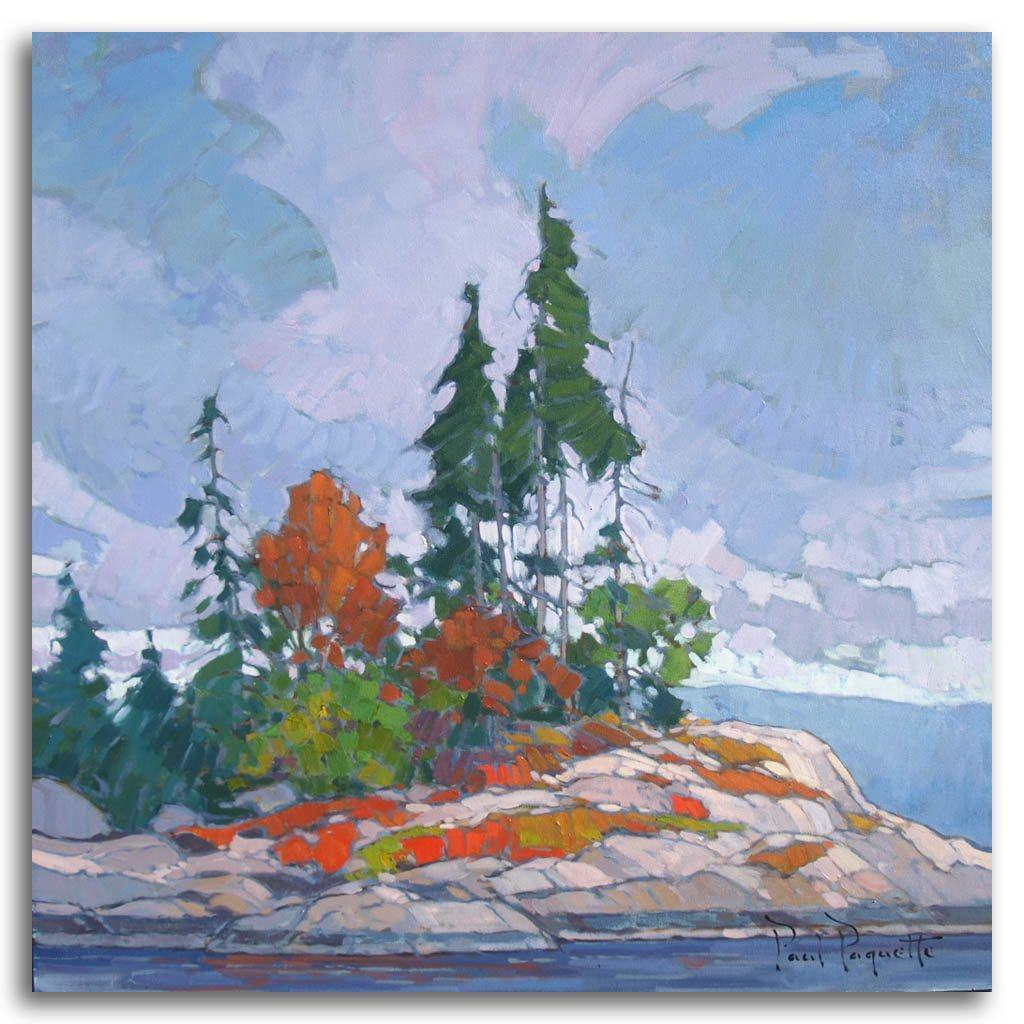 Majestic Point Oil on Canvas by Paul Paquette