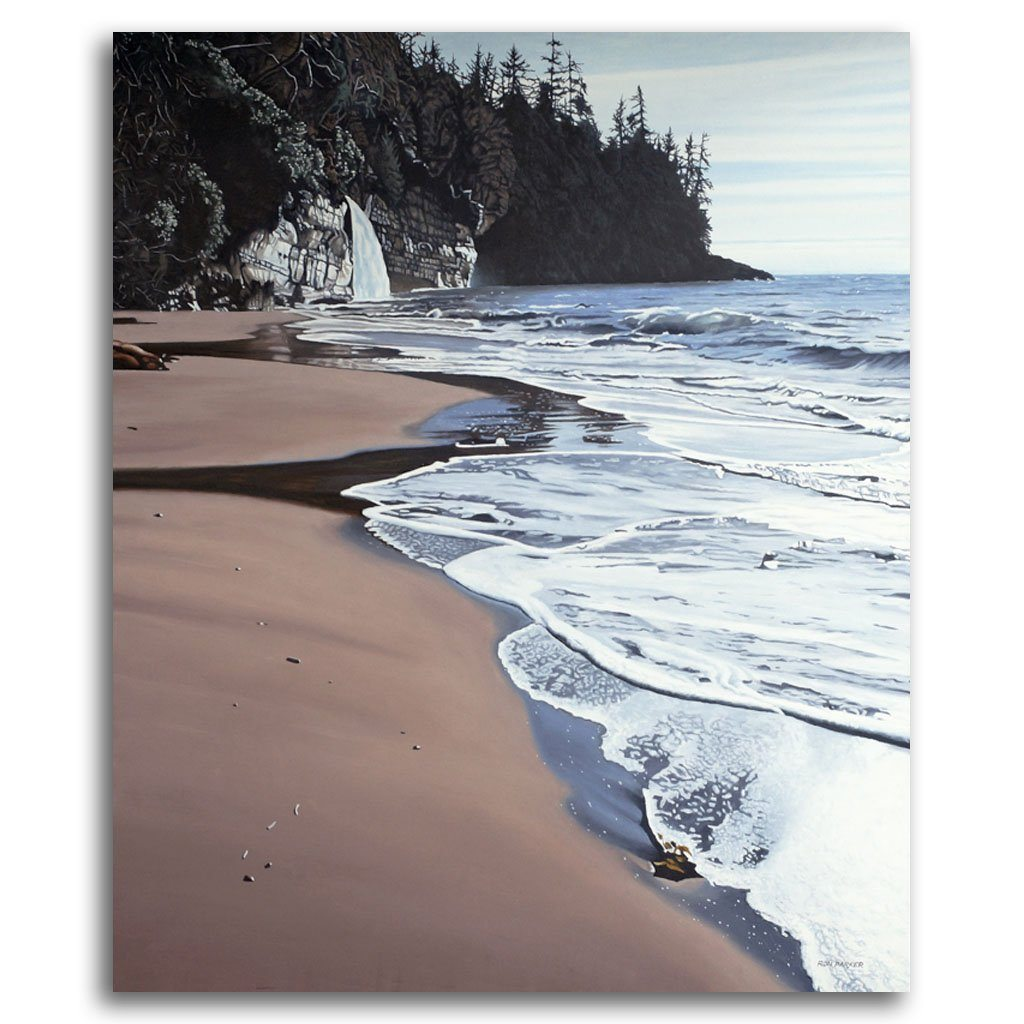 Mystic Beach Oil on Canvas by Ron Parker