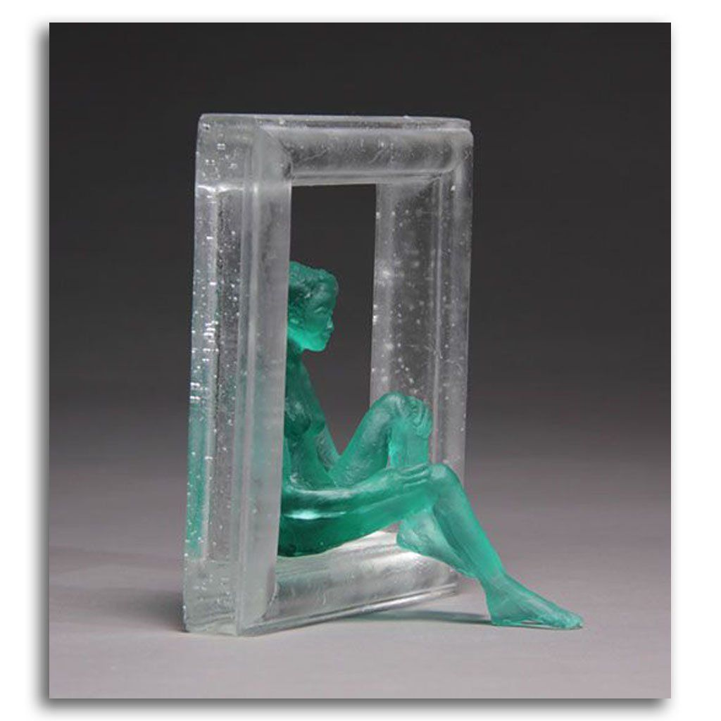 On the Step Cast Glass by France Grice