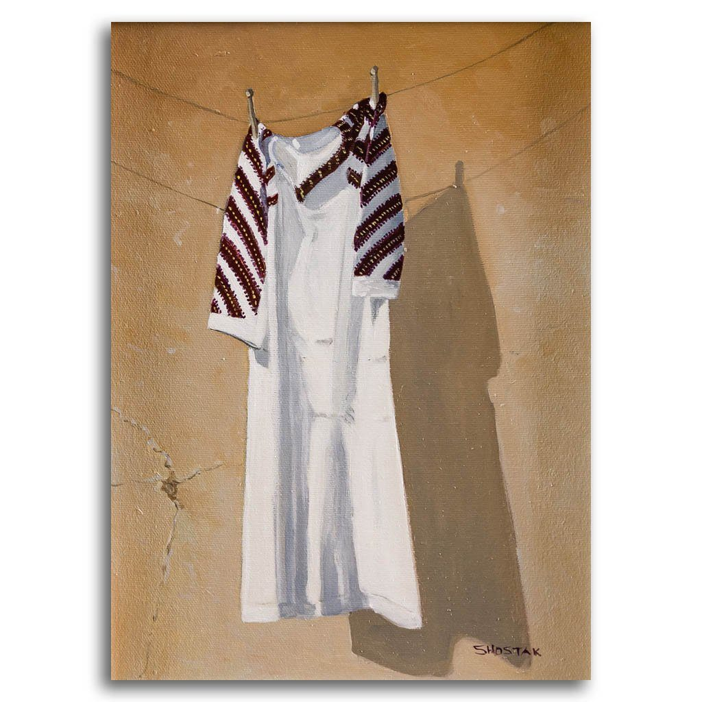 Ready to be stored away Oil on Canvas Peter Shostak