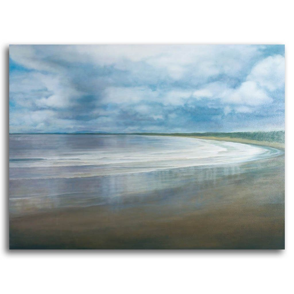 Sky, Beach and Sea #2 Oil on Canvas by Patricia Johnston