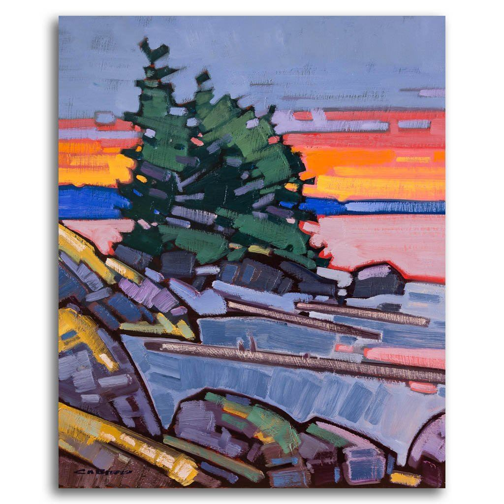 Tofino Calm Oil on Canvas by Cameron Bird