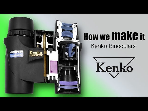 How Kenko Produces Binoculars
