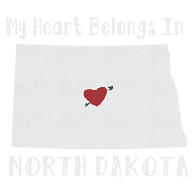 Load image into Gallery viewer, North Dakota Heat Transfers