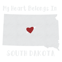Load image into Gallery viewer, South Dakota Heat Transfers