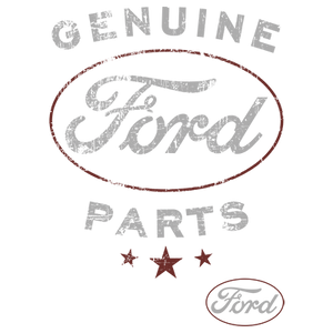 Vintage Genuine Ford Parts Heat Transfers