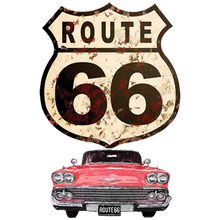 Load image into Gallery viewer, Route 66 Car Heat Transfers