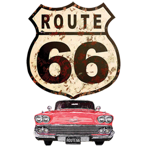Route 66 Car Heat Transfers