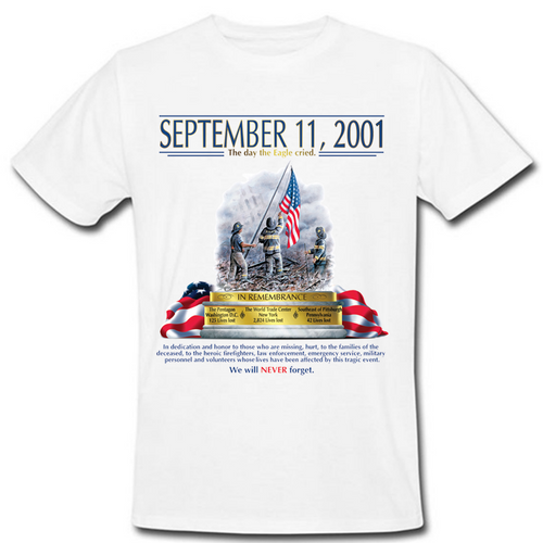 9-11 Never Forget Heat Transfer