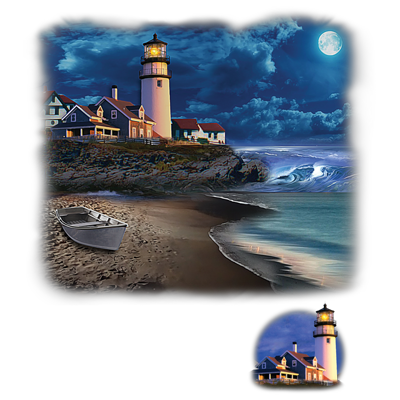 Beach Lighthouse Heat Transfer
