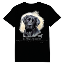 Load image into Gallery viewer, Black Labrador Heat Transfers