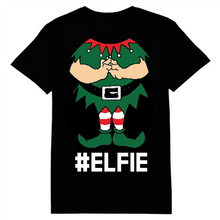 Load image into Gallery viewer, Elfie Christmas Heat Transfer