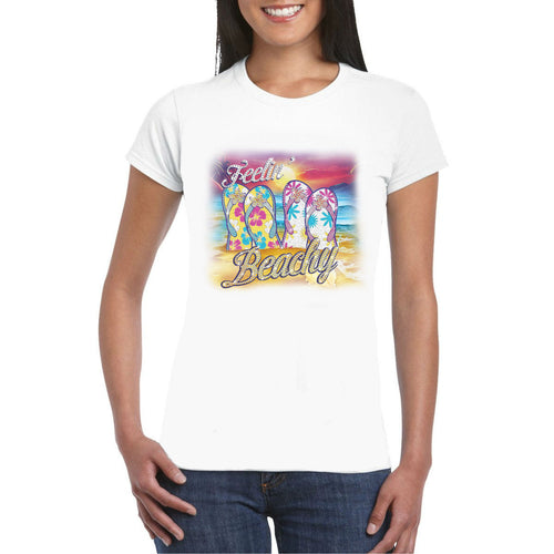 Feelin Beachy Rhinestone Transfer