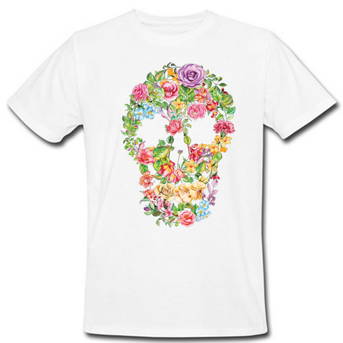 Flower Skull Heat Transfer