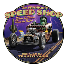 Load image into Gallery viewer, Frankie's Speed Shop Heat Transfers