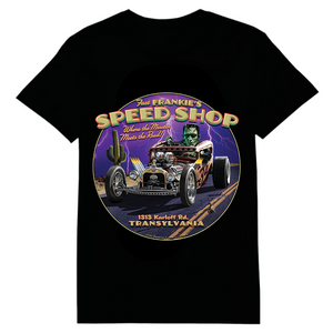 Frankie's Speed Shop Heat Transfers