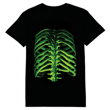Load image into Gallery viewer, Bones Glow In The Dark Heat Transfer