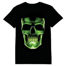 Load image into Gallery viewer, Skull Glow In The Dark Heat Transfer