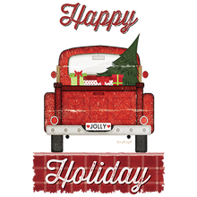 Load image into Gallery viewer, Happy Holiday Heat Transfers