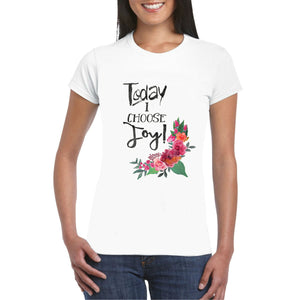 I Choose Joy Heat Transfer
