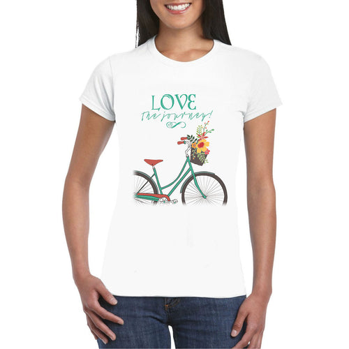 Love The Journey Bike Heat Transfer