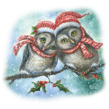 Load image into Gallery viewer, Lovely Owls Heat Transfers