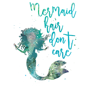 Mermaid Hair Heat Transfer