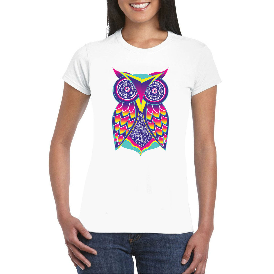 Owl Art Heat Transfer