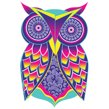 Load image into Gallery viewer, Owl Art Heat Transfer