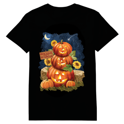 Pick Your Own Pumpkins Heat Transfers