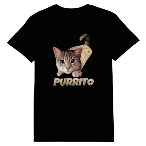 Purrito Cats Heat Transfers