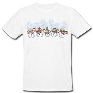 Snowman Band Heat Transfers