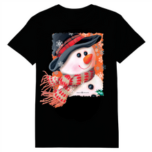 Load image into Gallery viewer, Snowman Scarf Heat Transfer