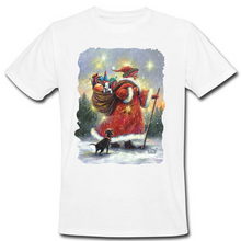 Load image into Gallery viewer, Strolling Santa Heat Transfer