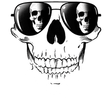Load image into Gallery viewer, Sunglasses Skull Heat Transfers